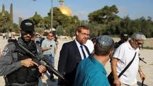 اسرائیل کے سخت گیر رکن پارلیمان  اور ربی یہودا گلک مسجد الاقصیٰ میں!