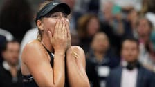 Sharapova sparkles on return to grand slam stage