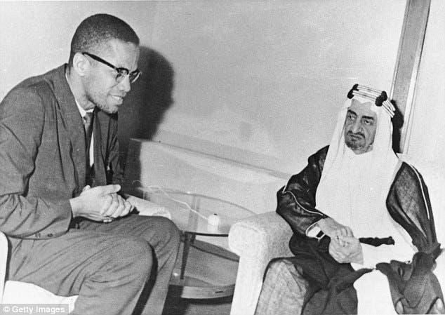 Malcom X and Prince Faisal