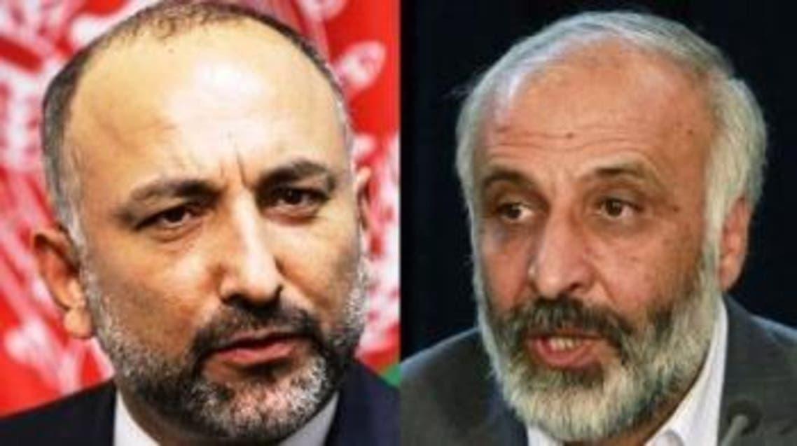 آسوشیتدپرس: معصوم استانکزی و حنیف اتمر با رهبران طالبان در تماساند