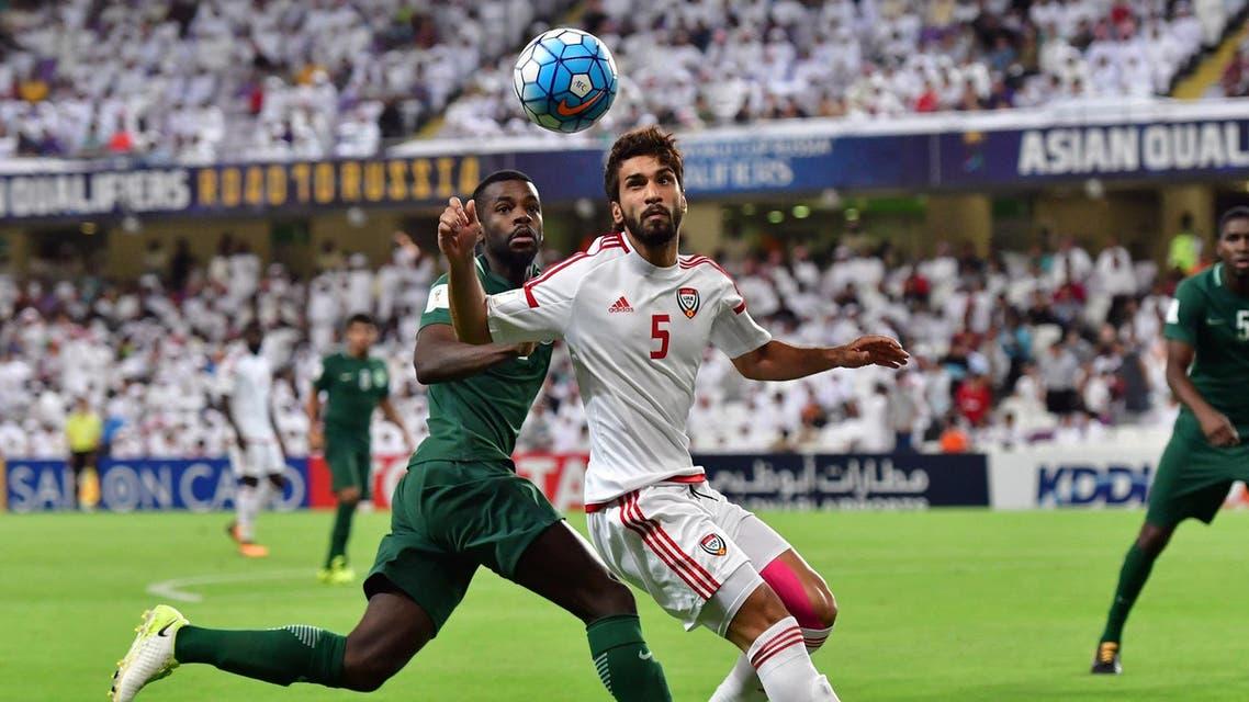 UAE KSA (AFP)
