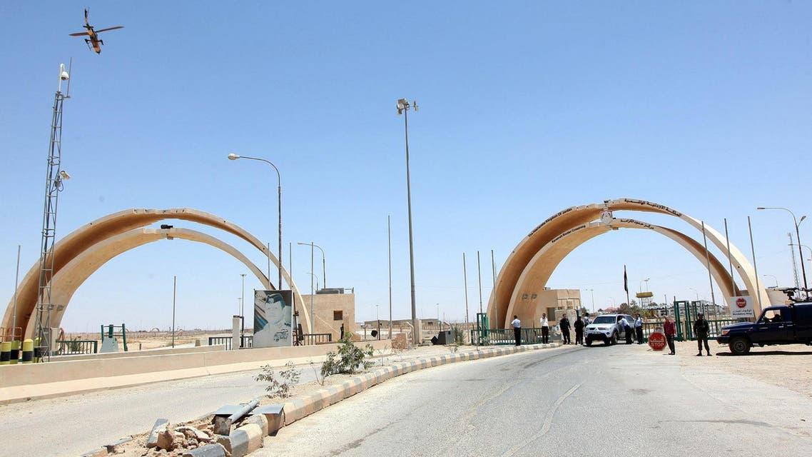 Jordan Iraq border AFP