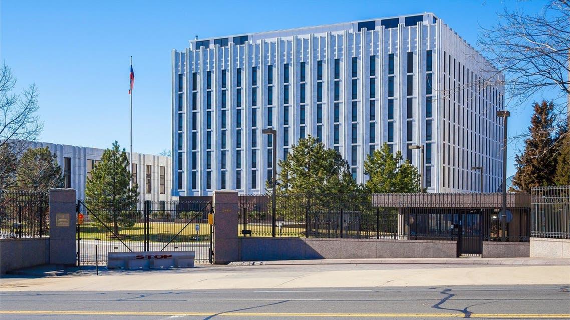 Russian Embassy Washington (Shutterstock)