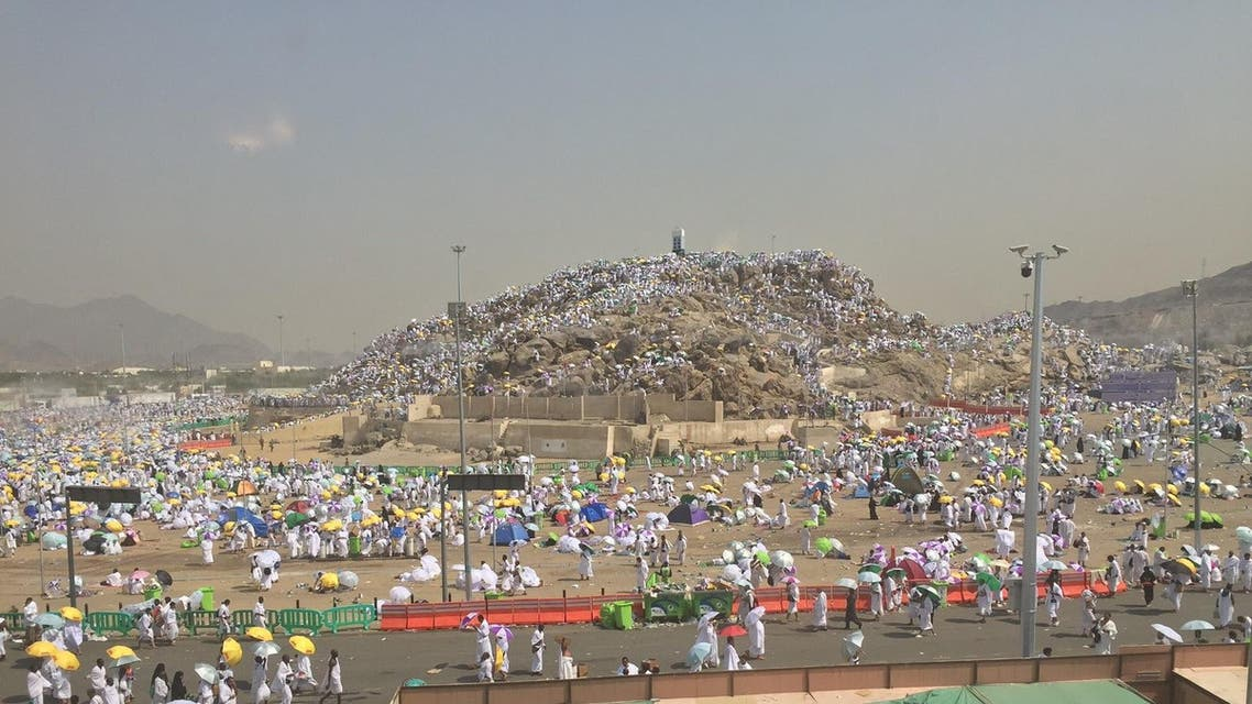 The Hajj pilgrimage is considered the largest gathering of people on earth and the statement is not an exaggeration. (Al Arabiya/ Ismaeel Naar)
