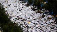 VIDEO: Muslim pilgrims in Muzdalifa prepare for Hajj's final stages