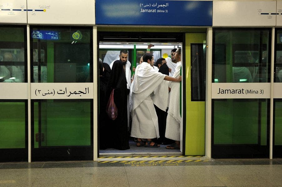 Today modern transportation is provided by the Custodian of the Two Holy Mosques to provide comfort for the pilgrims. (SPA)