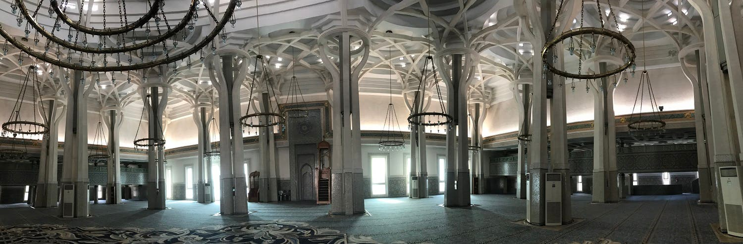 Mosque of Rome in Italy  3 (Supplied)