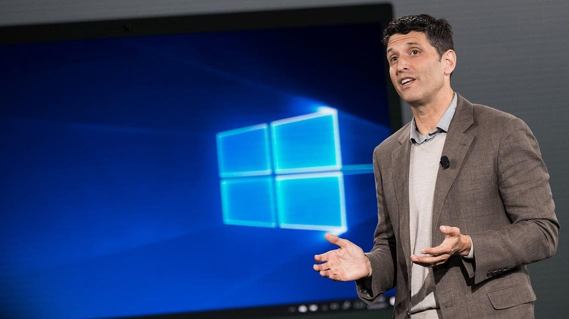 Terry Myerson, executive vice president of the Microsoft Windows and Devices Group. (AFP)