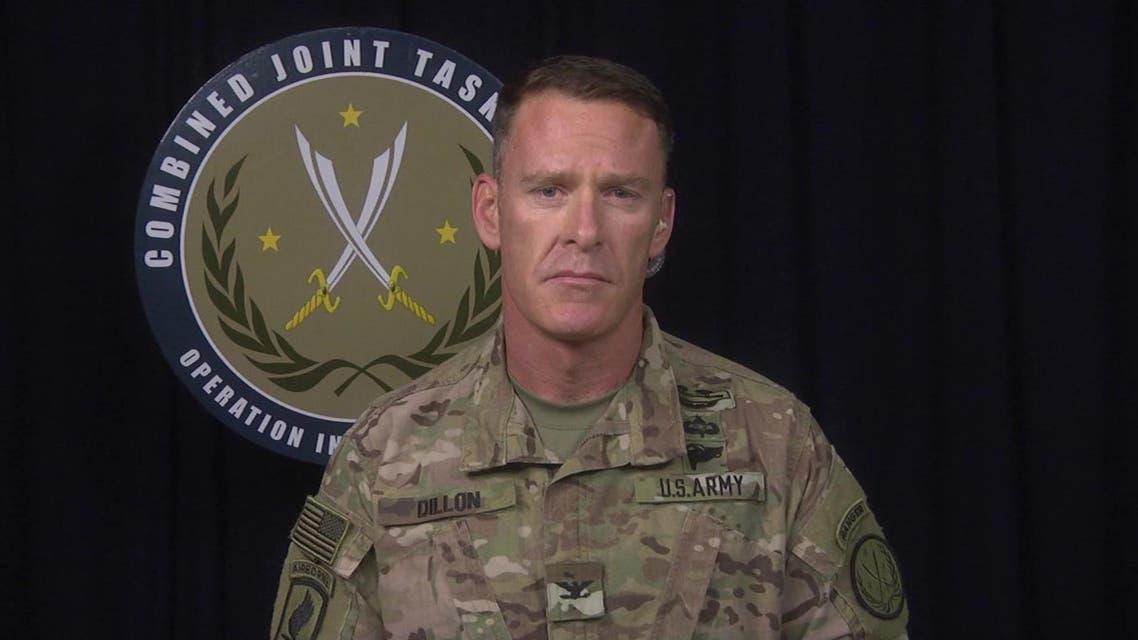 المتحدث باسم التحالف الدولي ضد داعش الكولونيل ريان ديلون 3