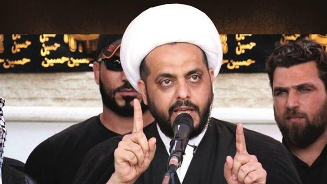 زعيم ميليشيا عصائب أهل الحق قيس الخزعلي 3 - الحشد الشعبي 3