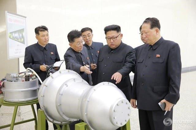قنبلة كوريا الشمالية الهيدروجينية