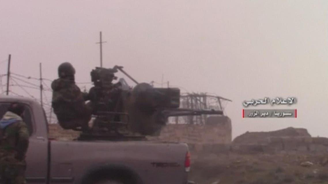 THUMBNAIL_ النظام السوري على أبواب دير الزور أبرز معاقل داعش