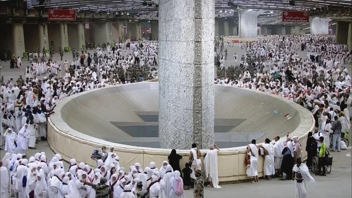 THUMBNAIL_ إنسيابة الحجيج في رمي الجمرات.. الأسباب والحقائق