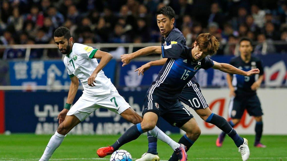 سلمان الفرج السعودية اليابان الأخضر