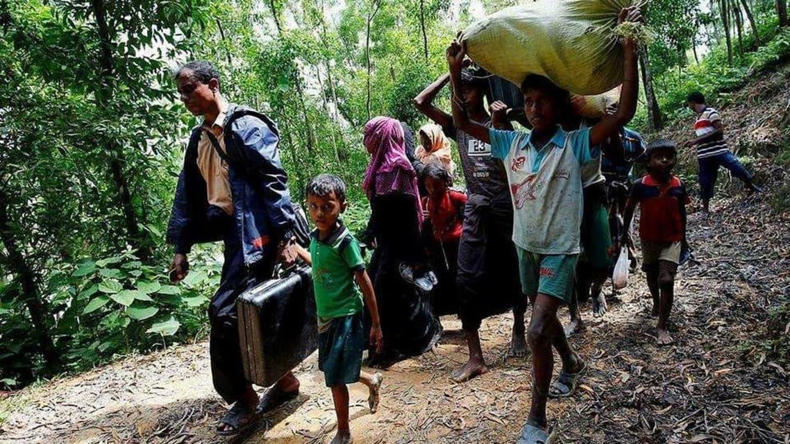 تصویری... کشتار مسلمانان روهینگیا توسط گروهای تندرو بودایی