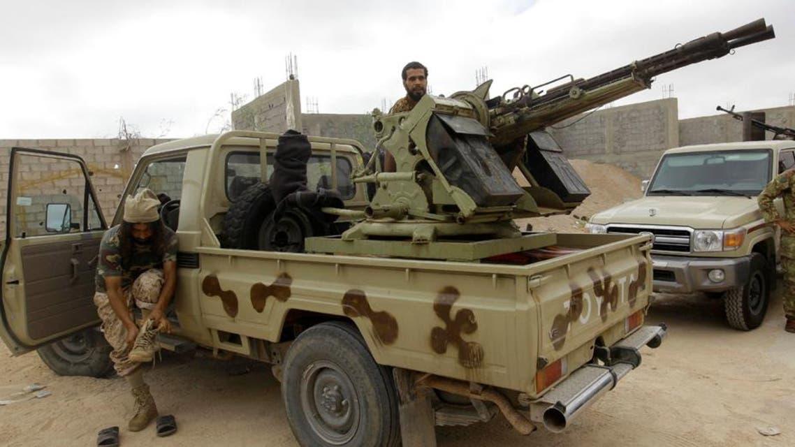 قوات من الجيش الليبي