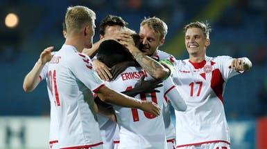 الدنمارك تسحق أرمينيا برباعية
