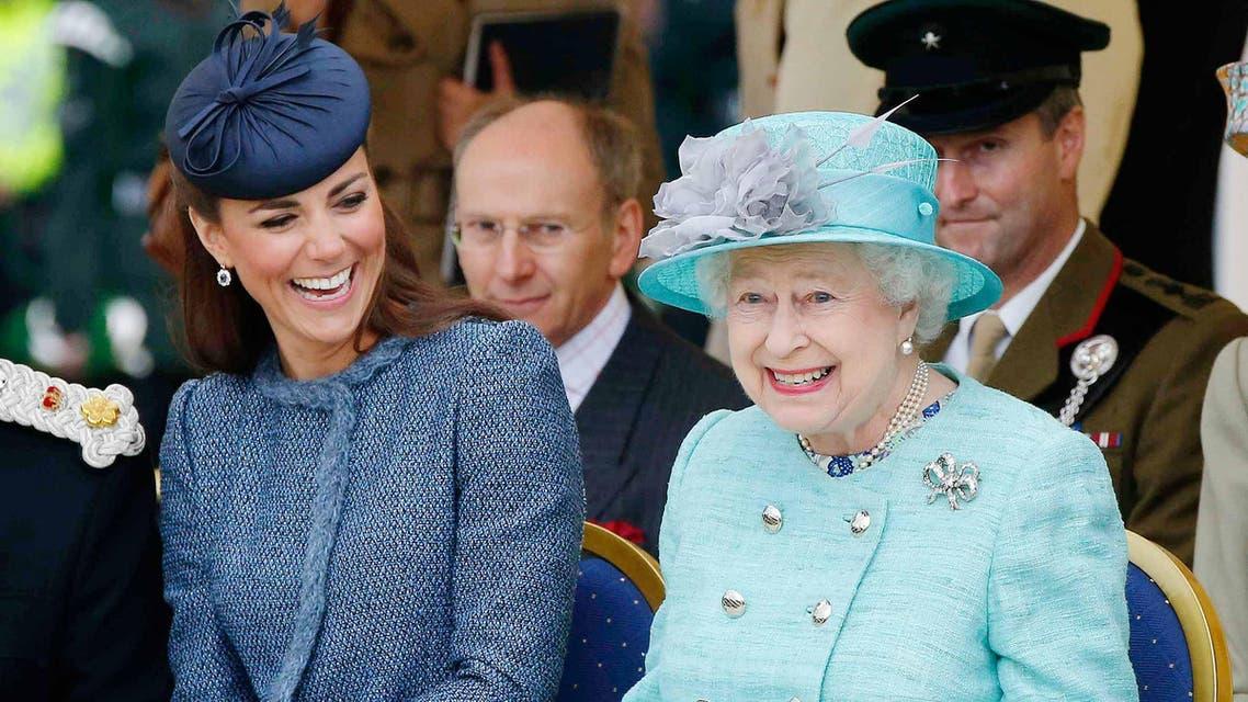 كيت والملكة اليزابيث