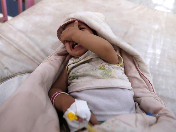 الصحة العالمية: 3000 حالة إصابة بالكوليرا باليمن يوميا