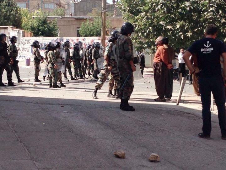 إيران تقمع مظاهرات كردية - أرشيفية