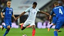 England hit back to beat Slovakia with Rashford winner