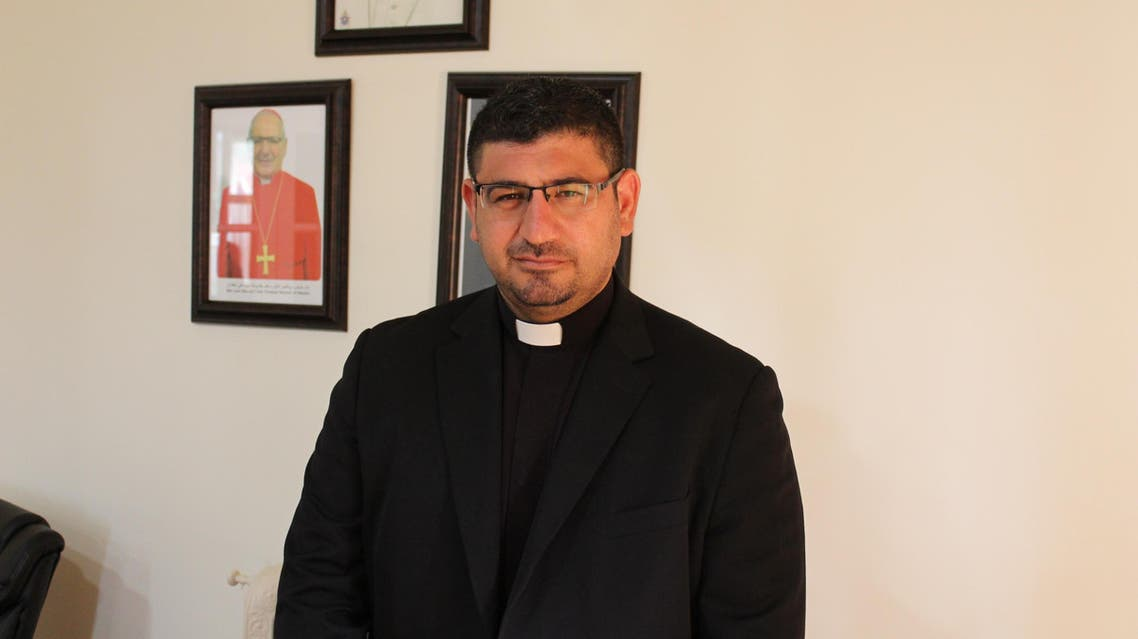 Father Sarmad Biloues says the Chaldean church has three million followers outside Iraq and almost one million in the country. (Supplied)