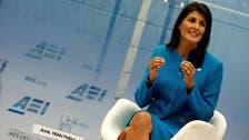 US envoy Haley tells Modi important to cut imports of Iranian oil