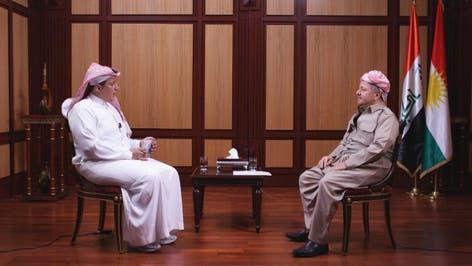 لقاء رئيس اقليم كردستان العراق مع تركي الدخيل