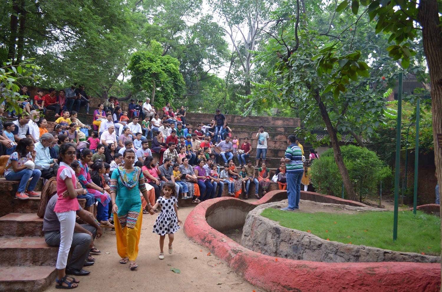 Snake awareness programs at Sundarvan in Ahmedabad attract many nature lovers on Sundays. (Supplied)