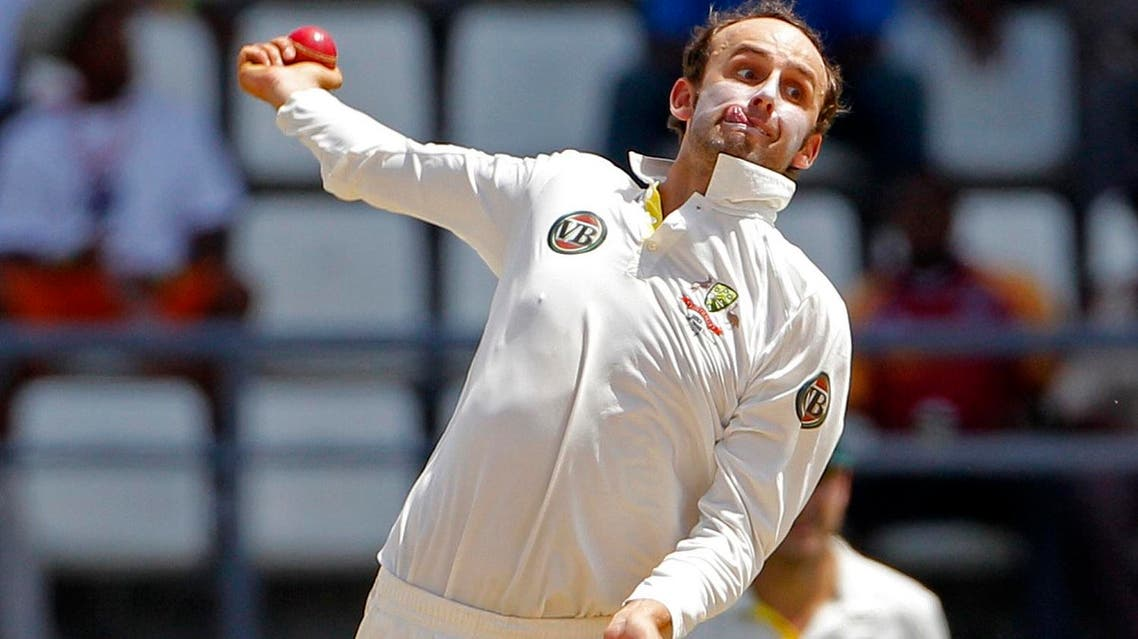 Australian off-spinner Nathan Lyon completed a career-best match haul of 13-154 to help bundle out Bangladesh for 157 on day four at Chittagong's Zahur Ahmed Chowdhury Stadium. (File photo: AP)