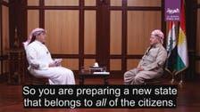 Al Arabiya sits down with Iraqi Kurdistan region's Barzani ahead of referendum