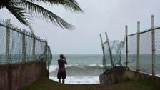 Karen regains tropical storm strength as it churns toward Puerto Rico