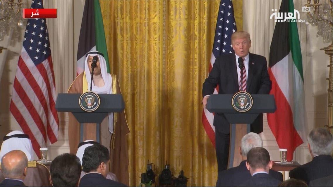 THUMBNAIL_ مؤتمر الرئيس ترمب وأمير الكويت كاملا