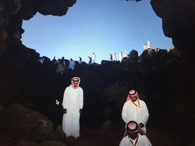بالصور.. أجمل كهوف السعودية التي بالصور.. أجمل كهوف السعودية التي
