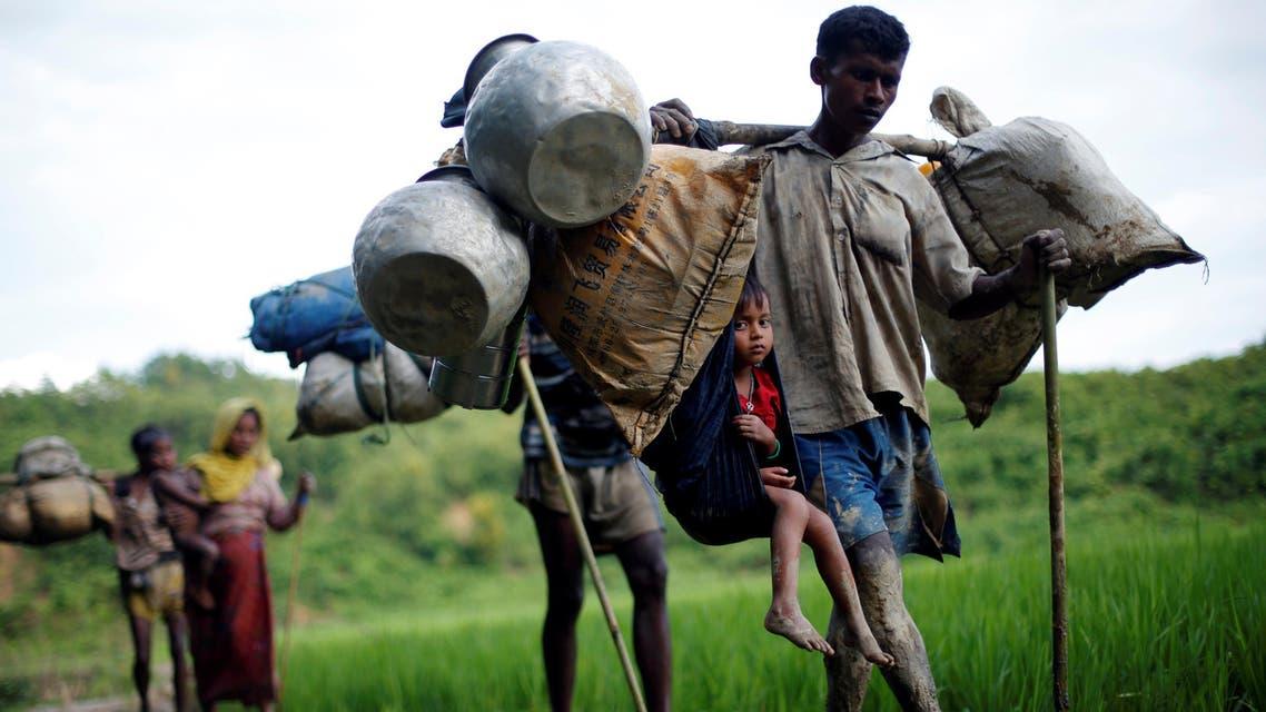 أقلية الروهينغا المسلمة في ميانمار تواجه مجازر