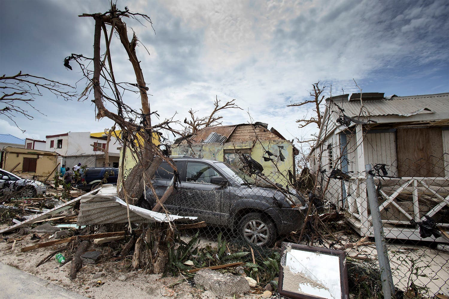 View of the aftermath of Hurricane Irma on Sint Maarten Dutch part of Saint Martin island in the Carribean September 7, 2017. (Reuters)