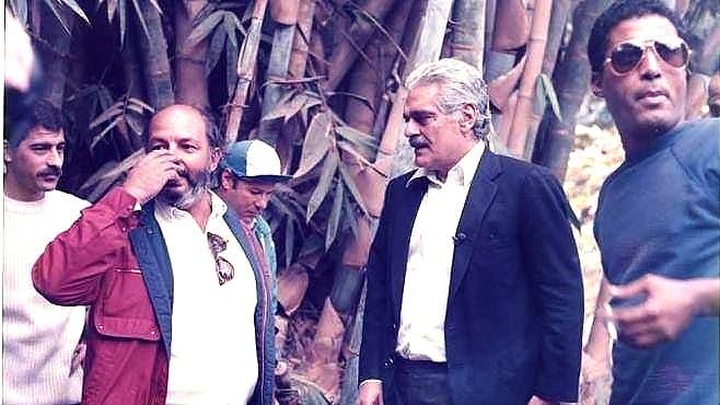 أحمد زكي وعمر الشريف ومحمد خان