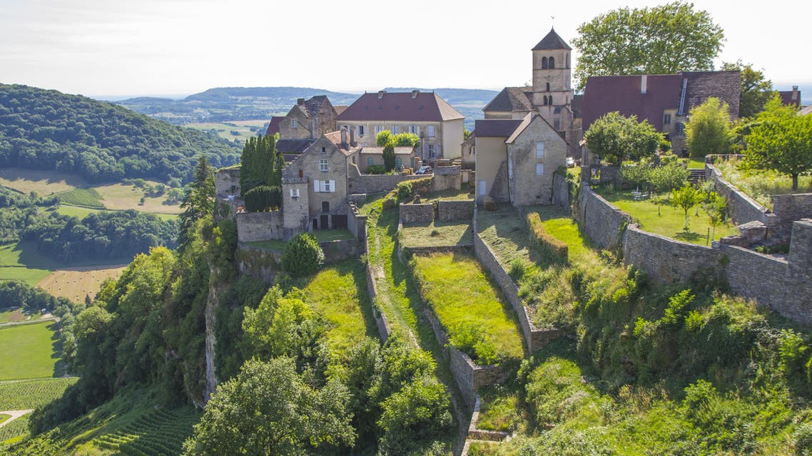 Chateau-Chalon france shutterstock