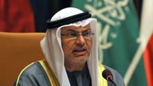 قرقاش: قطر فشلت في الإيقاع بين الرياض وأبوظبي
