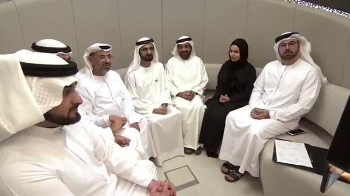 زواج في مكتب حاكم دبي