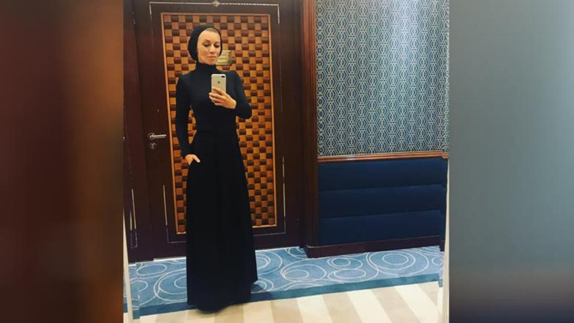 Russian Foreign Ministry spokeswomen in a new look while visiting Saudi Arabia
