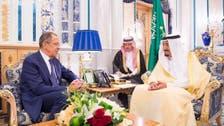 Saudi King Salman receives Russian Foreign Minister Sergei Lavrov