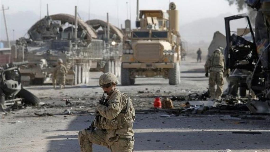 حمله انتحاری بر کاروان نیروهای خارجی در بگرام افغانستان