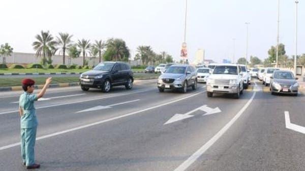 7 Year Old Emirati Boy Controls Traffic Flow On Ras Al Khaimah Road Al Arabiya English