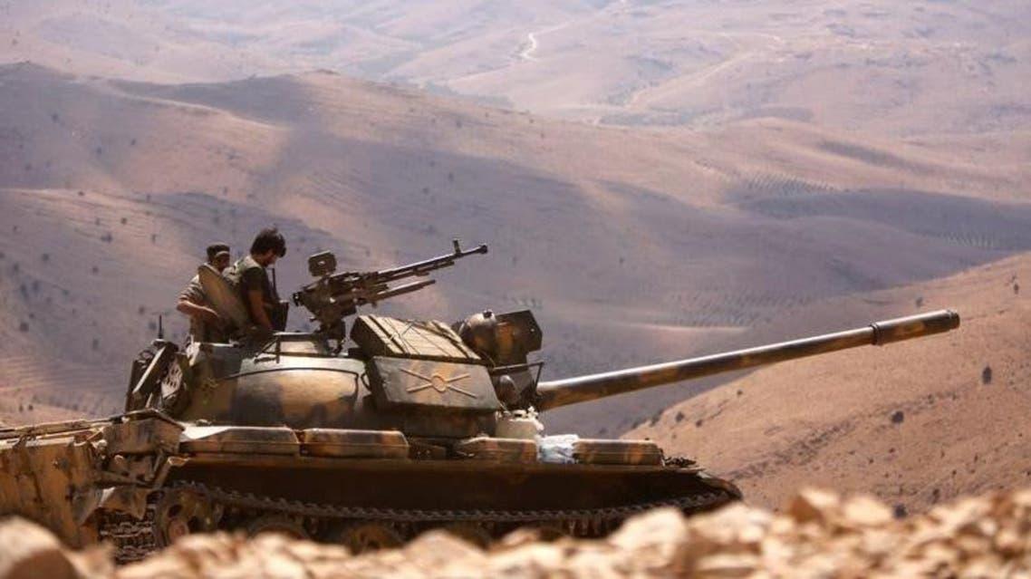 عناصر من قوات النظام السوري 3 قوات الأسد 3