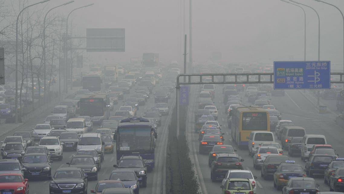 الصين - تلوث - سيارات