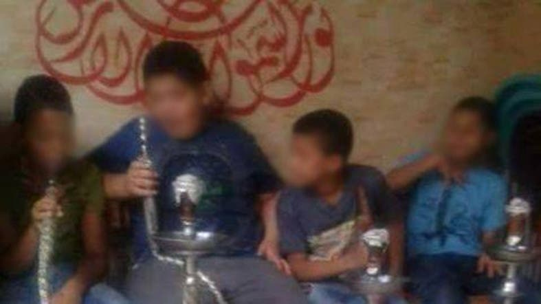 [VIDEO] 5year old girl Smoking Shisha Sparks Outrage 4
