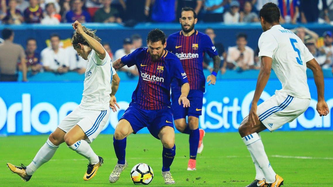 ميسي برشلونة ريال مدريد