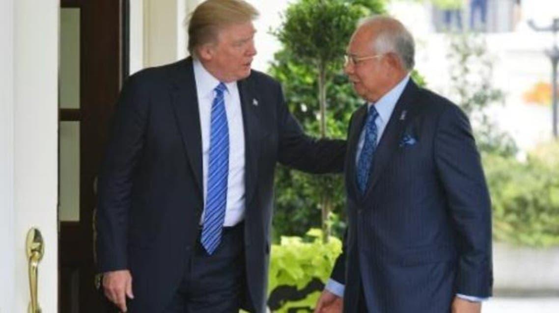 ترمب يلتقي رئيس الوزراء الماليزي