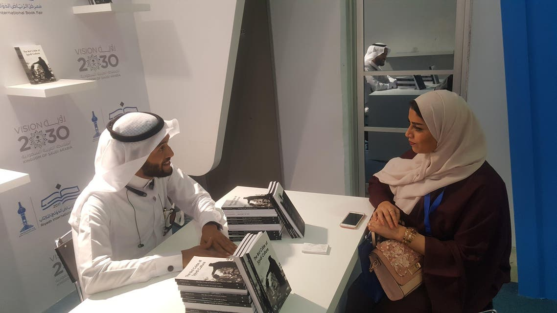Dr. Abdul Al Lily said that the book is the first-of-its-kind to talk about Saudi culture in a purely descriptive manner. (Supplied)